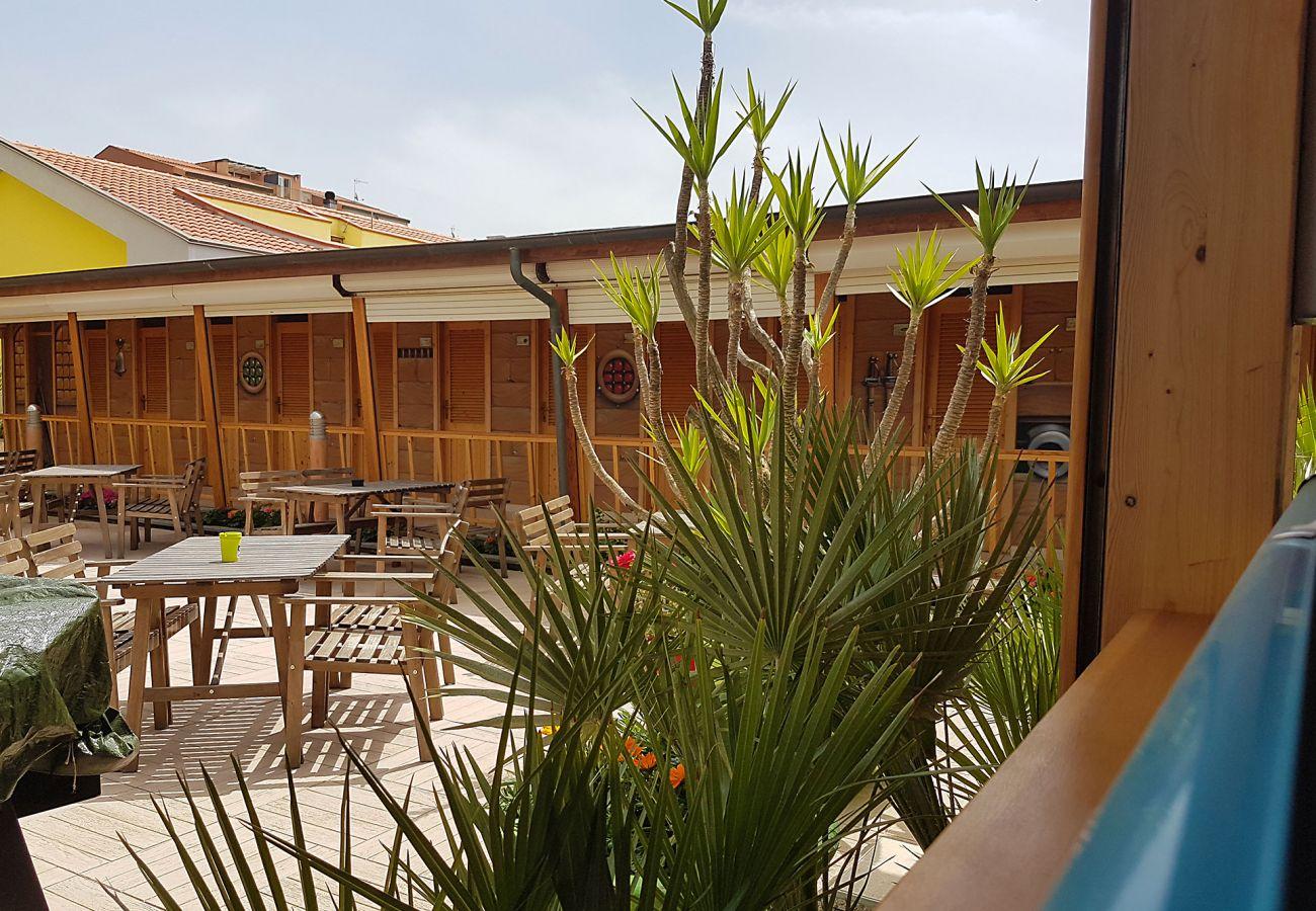 Marina di Grosseto - Das Bagno Capri für Gäste des Ancora Apartments