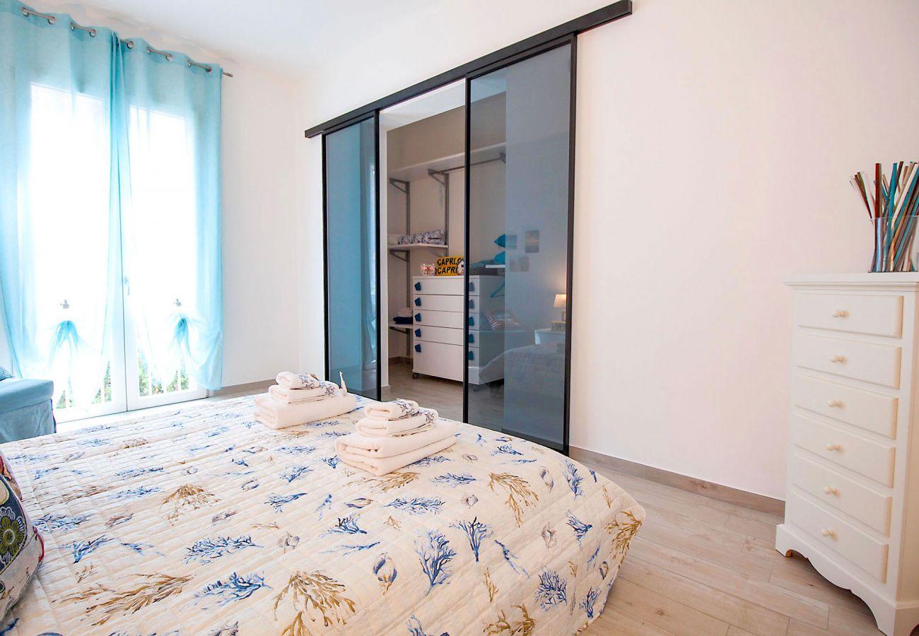Schlafzimmer Ferienwohnung Ancora in Marina di Grosseto
