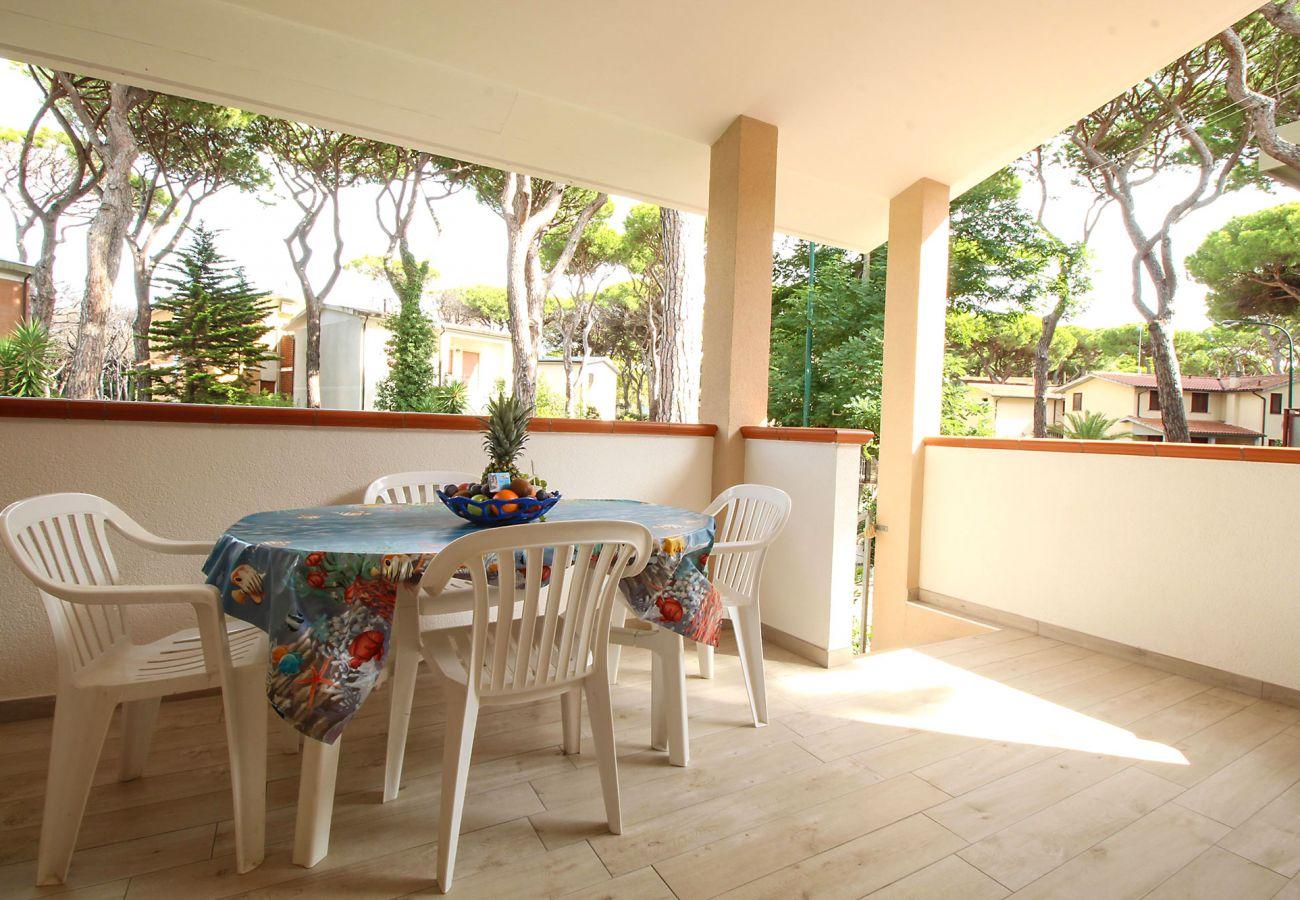 Wohnung Ancora in Marina di Grosseto - Ruhige Entspannung