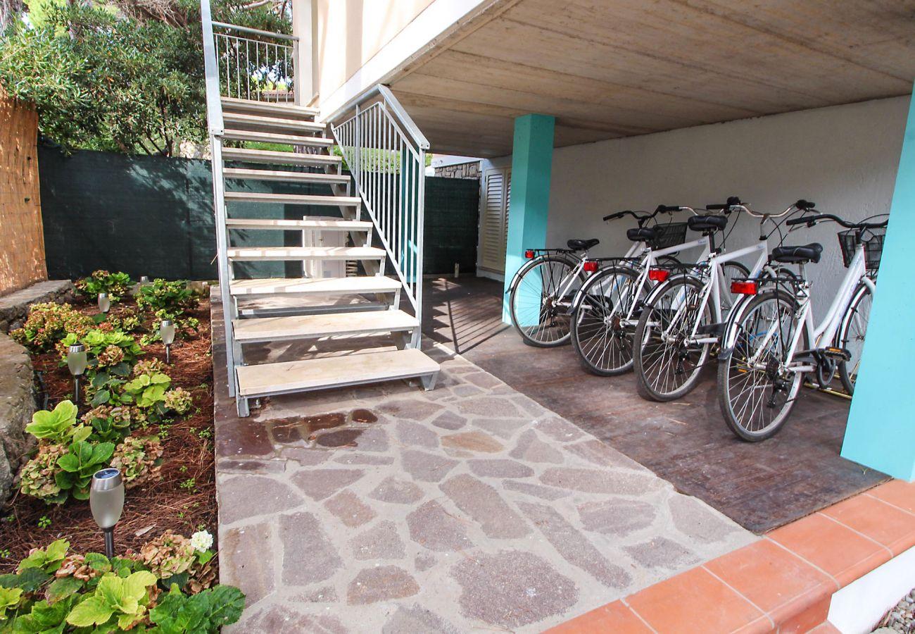 Marina di Grosseto-Wohnung Il Timone-Fahrräder für zwei Personen
