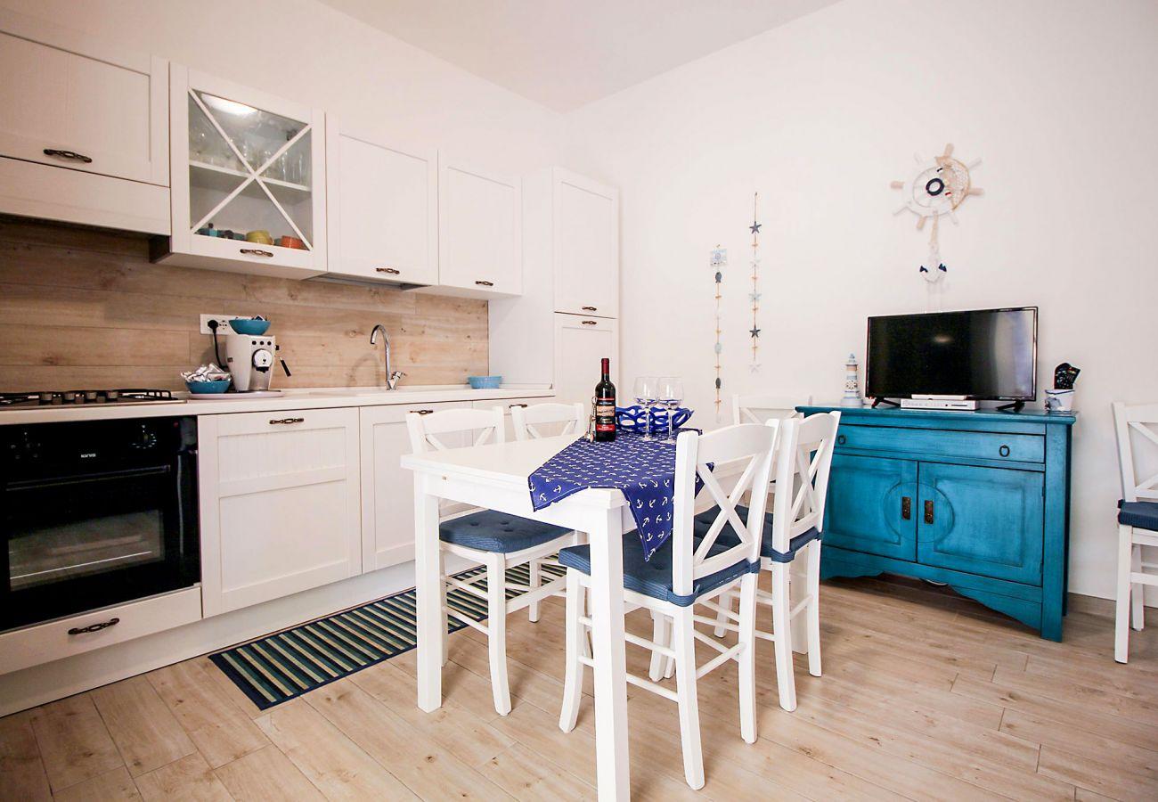 Marina di Grosseto - Wohnung  Il Timone - Das elegante Wohnzimmer