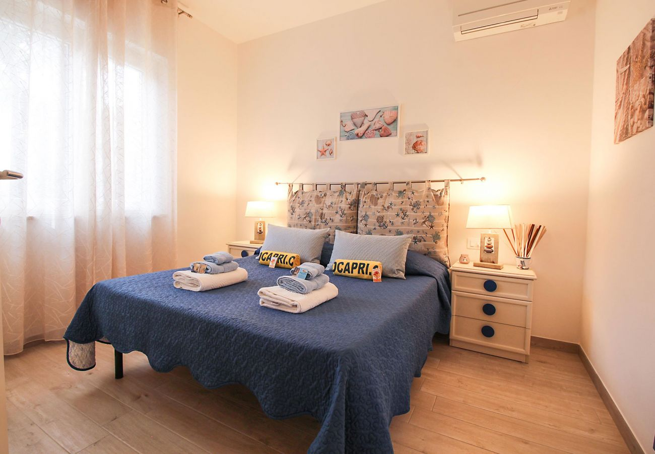 Marina di Grosseto-Il Timone Apartment - Das klimatisierte Schlafzimmer