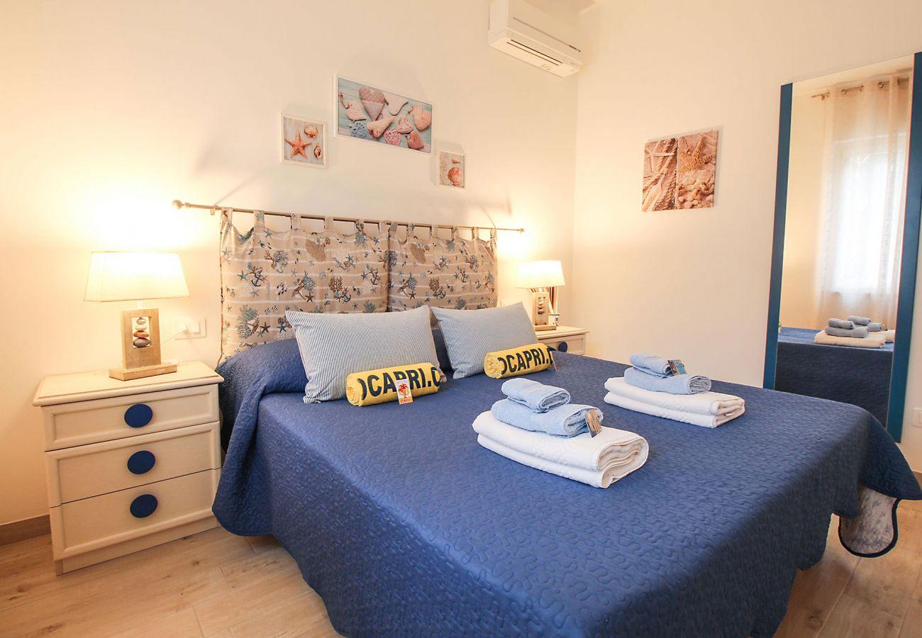 Marina di Grosseto-Il Timone Apartment - Das komfortable Doppelbett