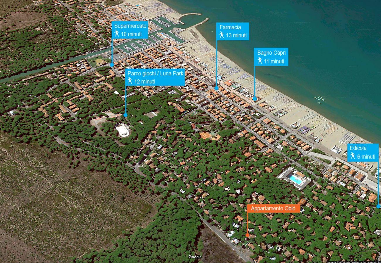 Marina di Grosseto - Ferienwohnung Oblò