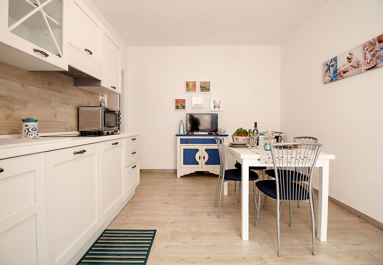 Marina di Grosseto - Wohnung L'Oblò - Das Wohnzimmer