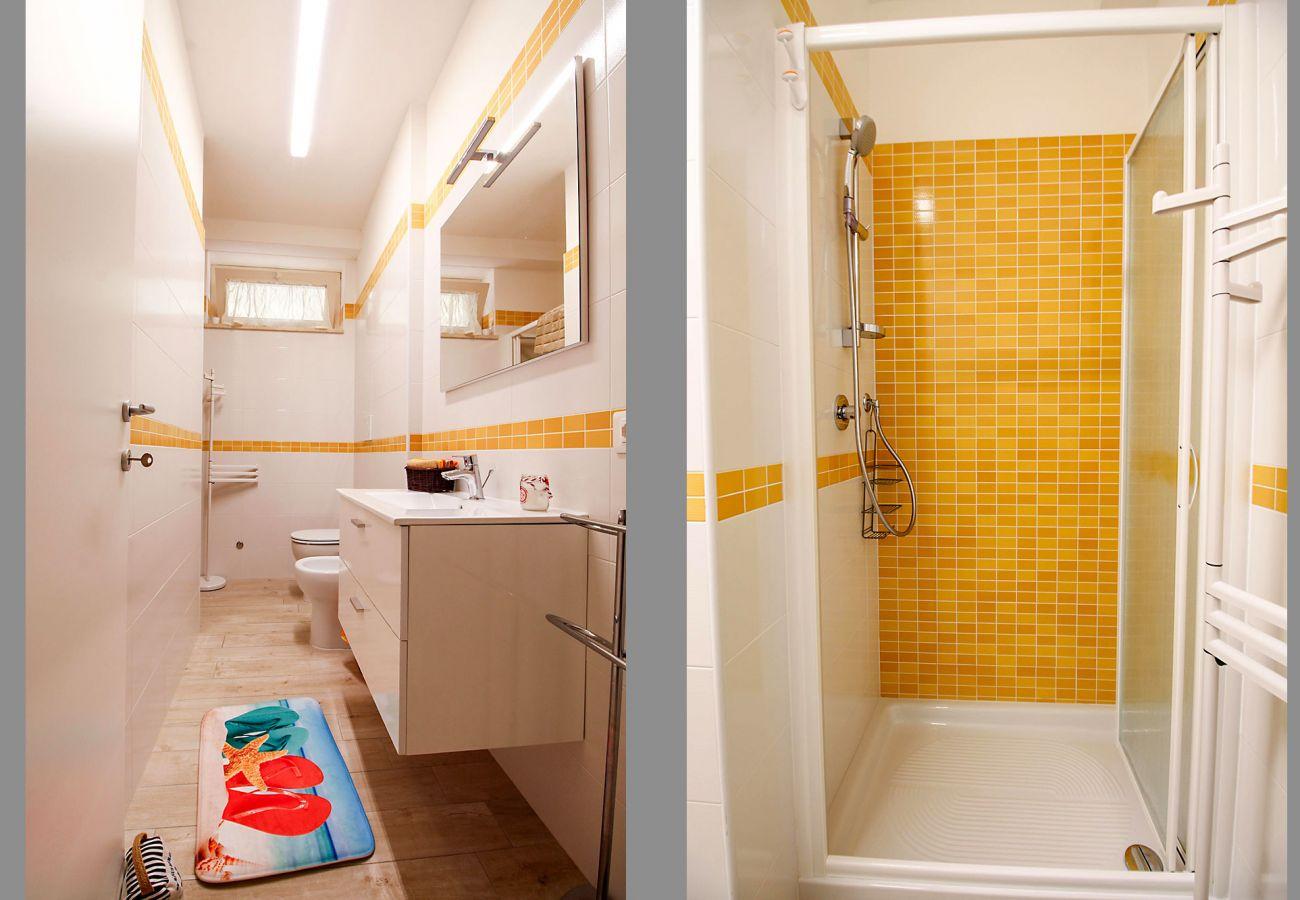 Marina di Grosseto - Wohnung L'Oblò - Details des Badezimmers