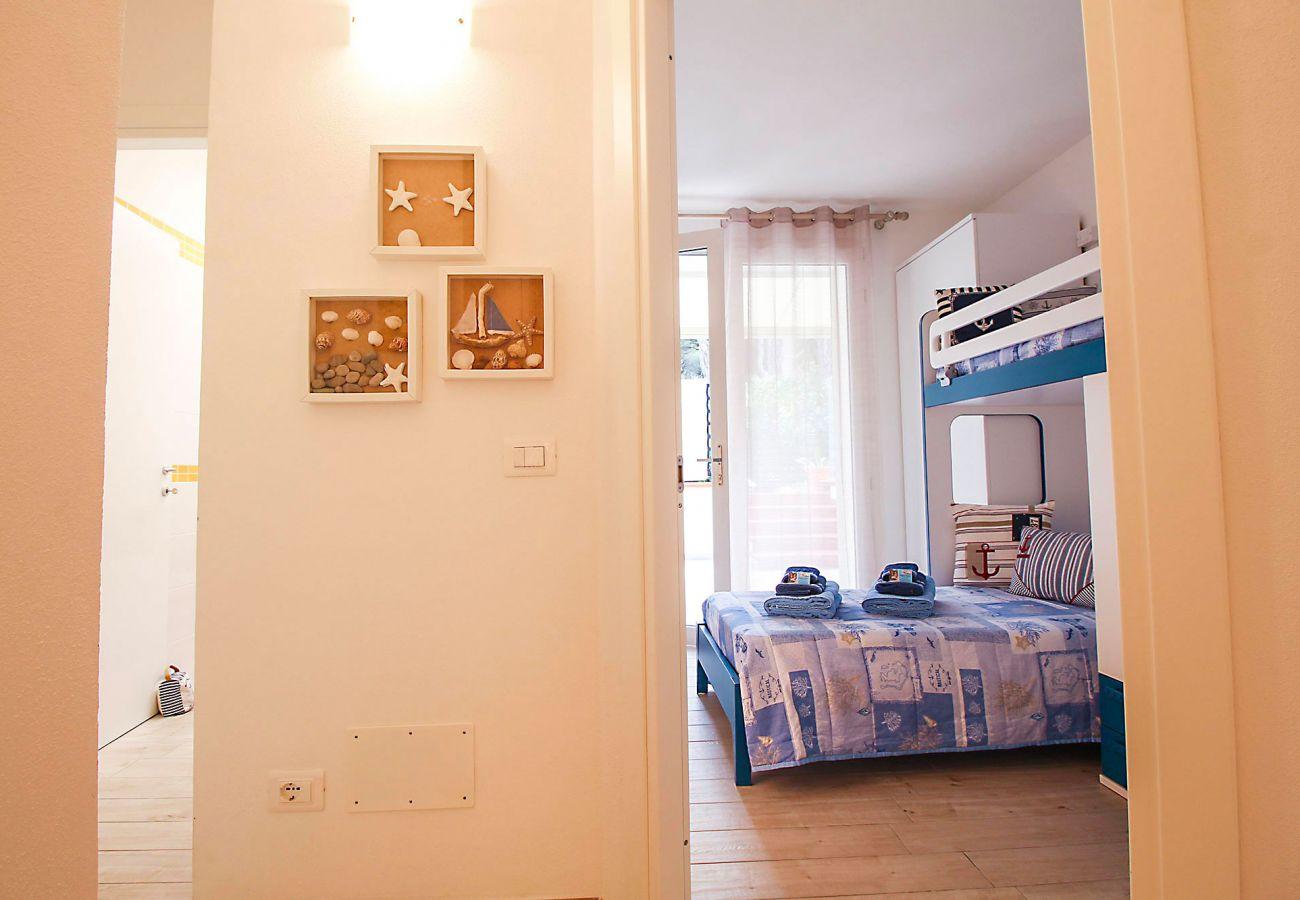 Marina di Grosseto - Wohnung L'Oblò - Ideal für ein Paar mit zwei Kindern