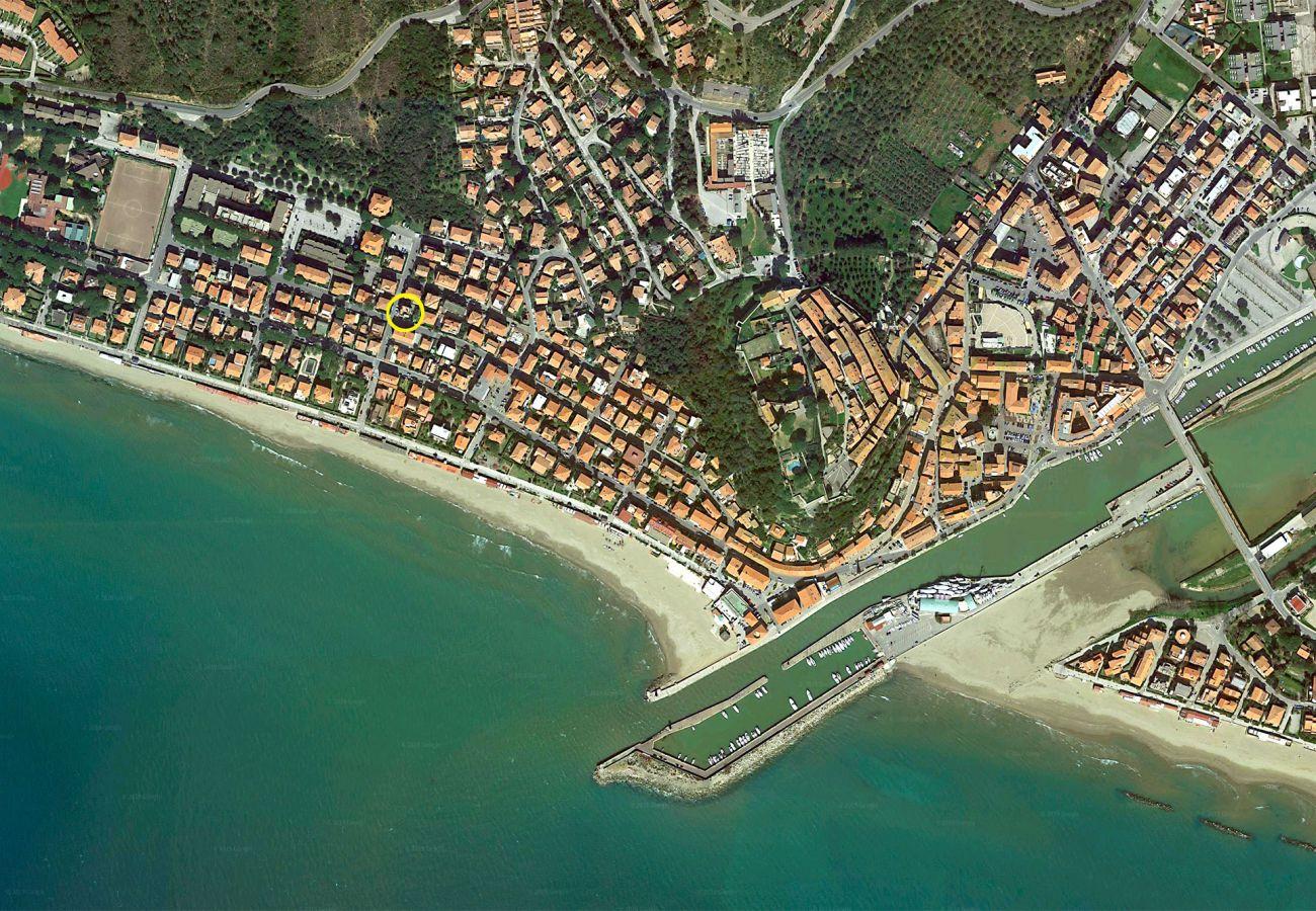 Ferienwohnung Anna - Zentrale Lage in Castiglione della Pescaia