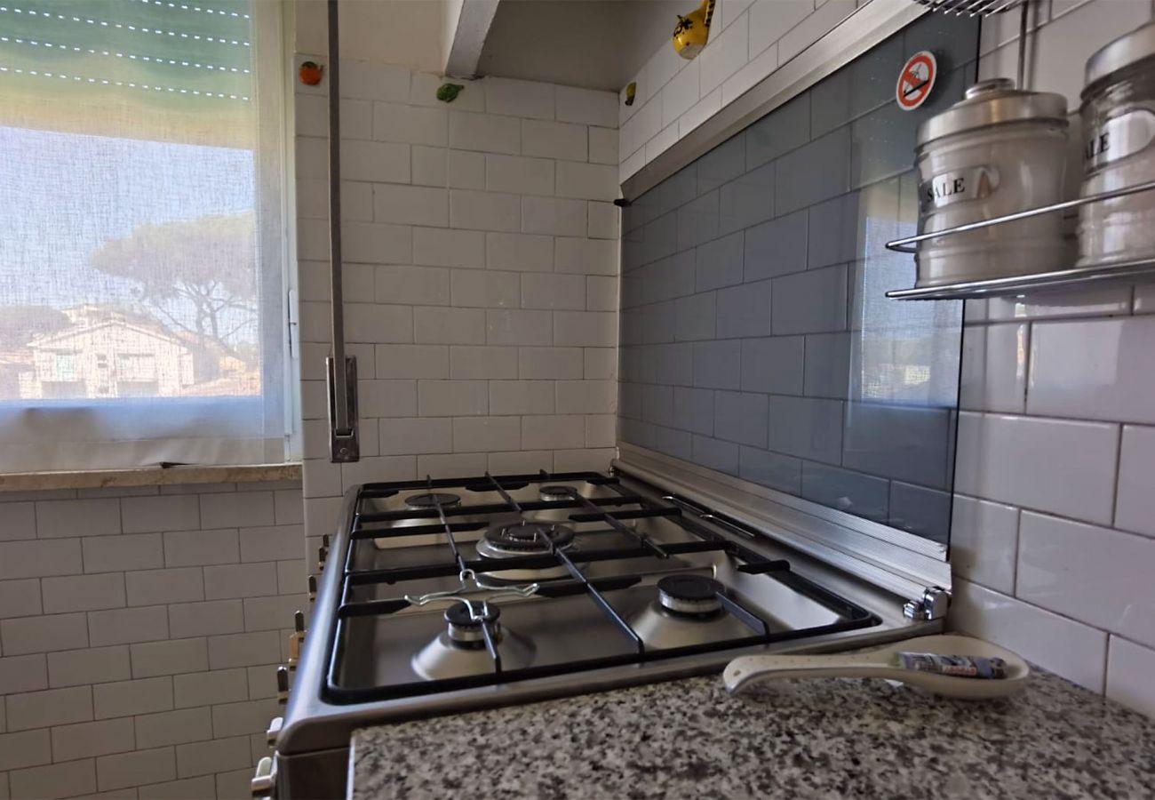 Castiglione della Pescaia - Anna Apartment - Die Küchenzeile
