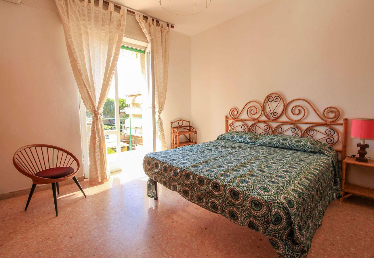 Castiglione della Pescaia - Wohnung Anna- Das Hauptschlafzimmer