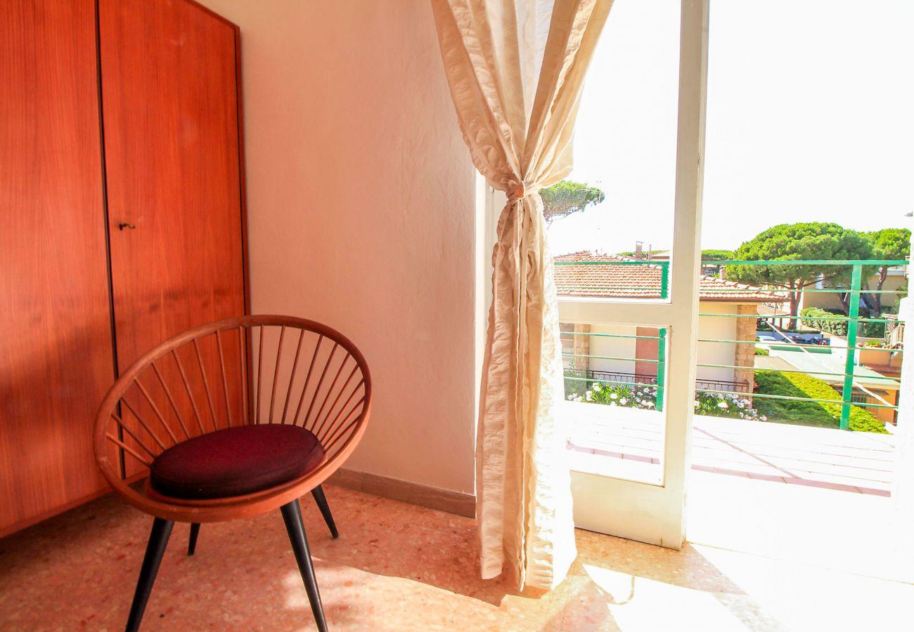 Castiglione della Pescaia - Wohnung Anna - Das Schlafzimmer - Details