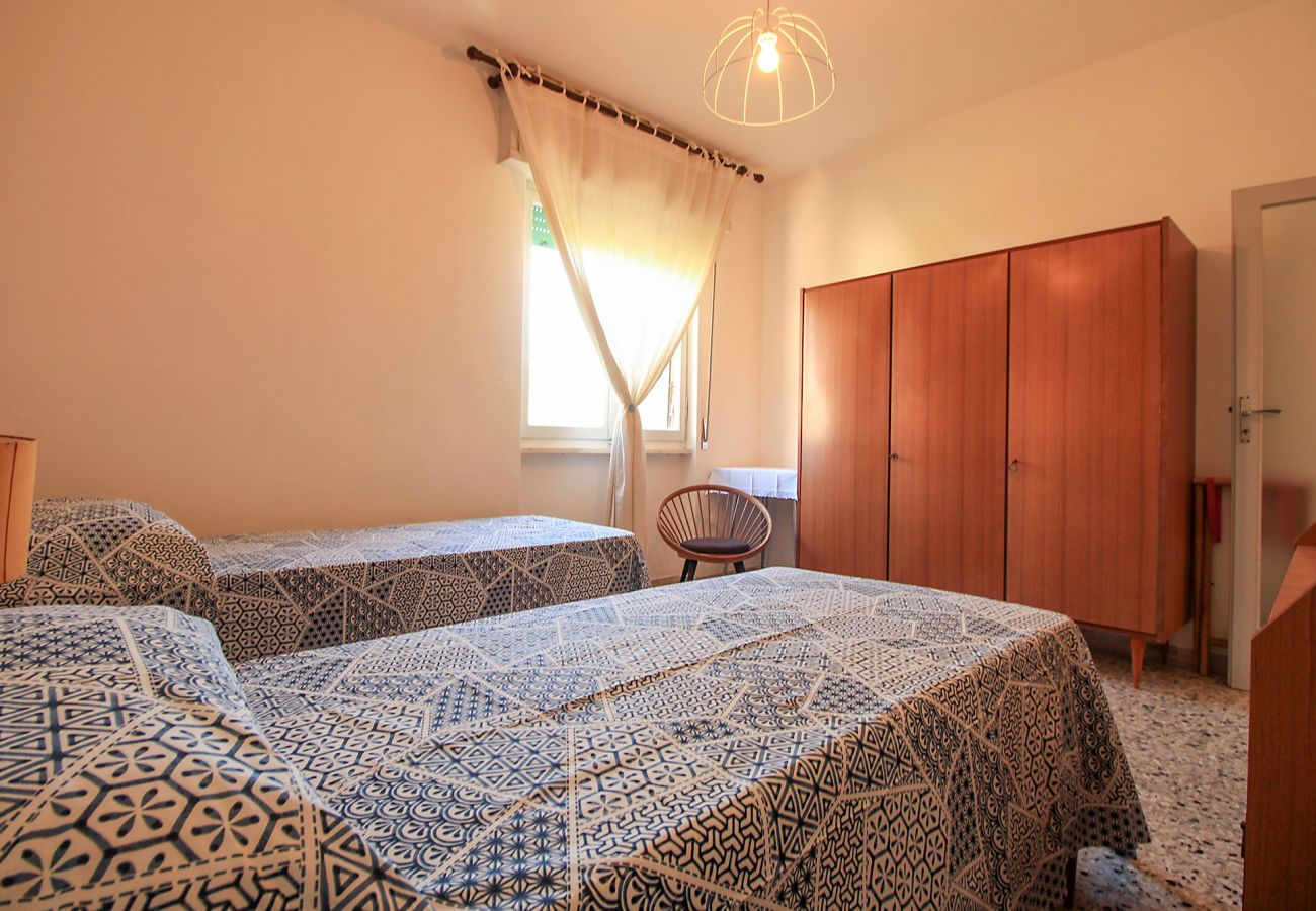 Castiglione della Pescaia-Wohnung Anna-Das dritte Schlafzimmer