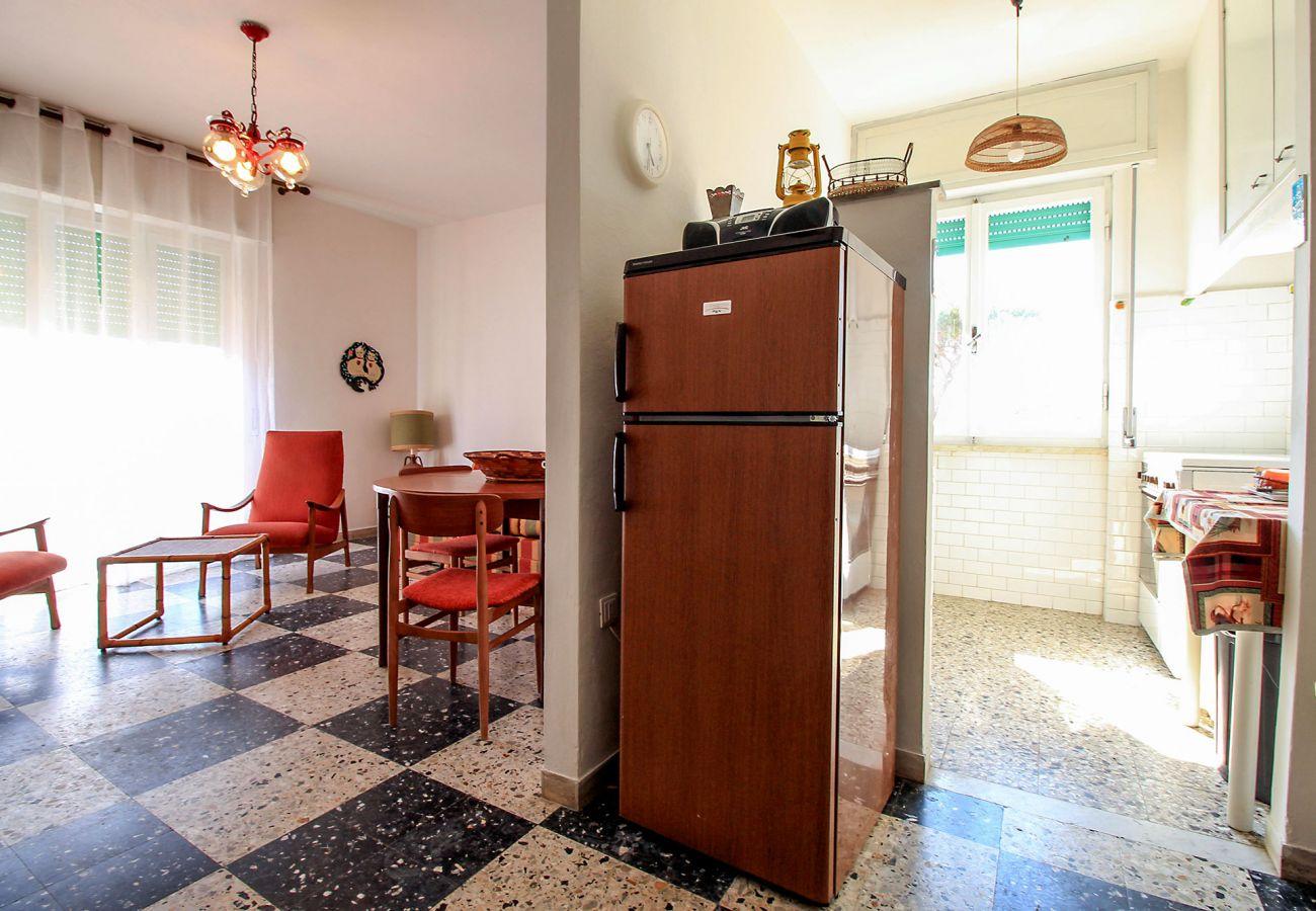 Castiglione della Pescaia - Wohnung Anna - Der große Kühlschrank