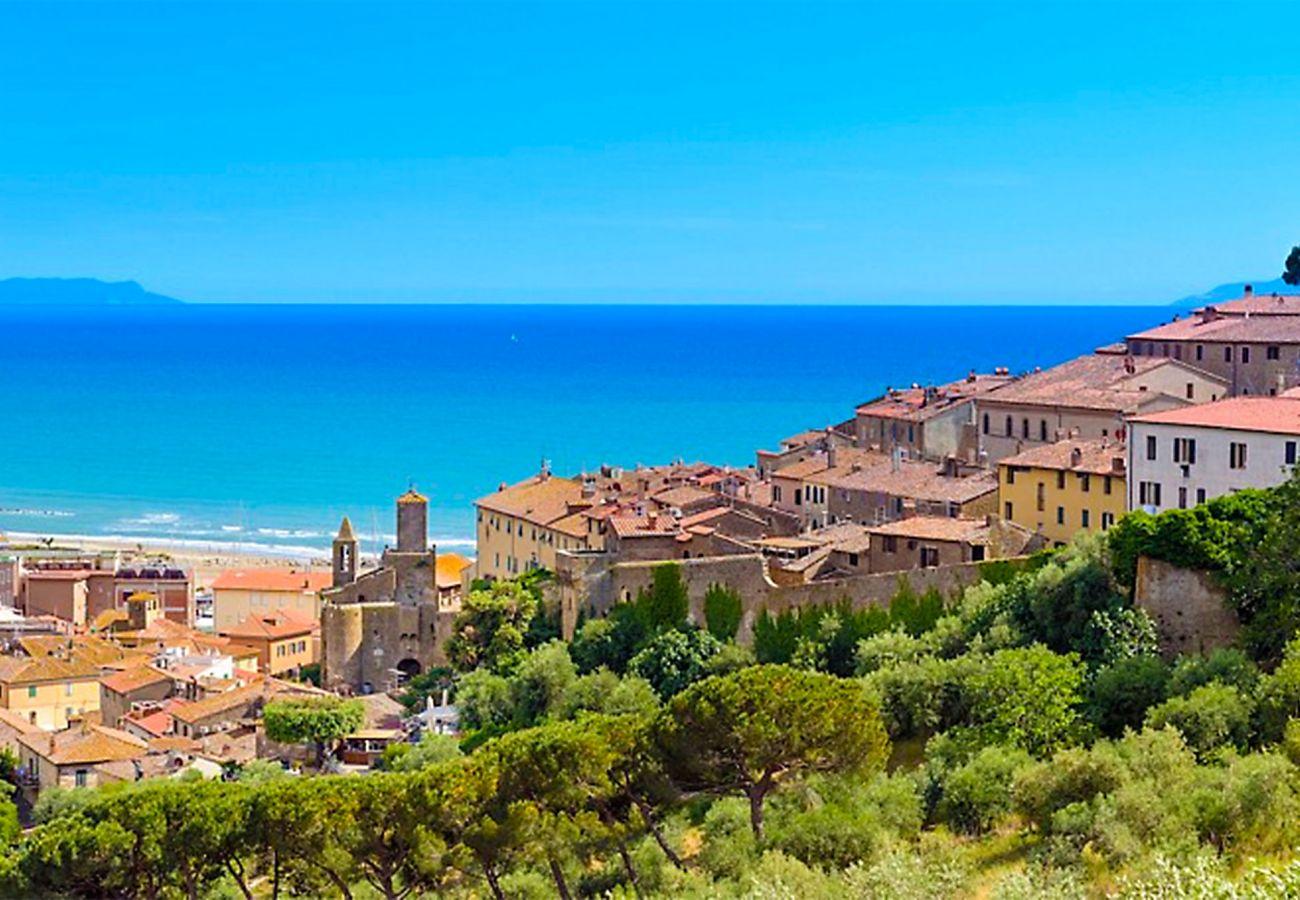 Castiglione della Pescaia - Blick auf das alte Dorf
