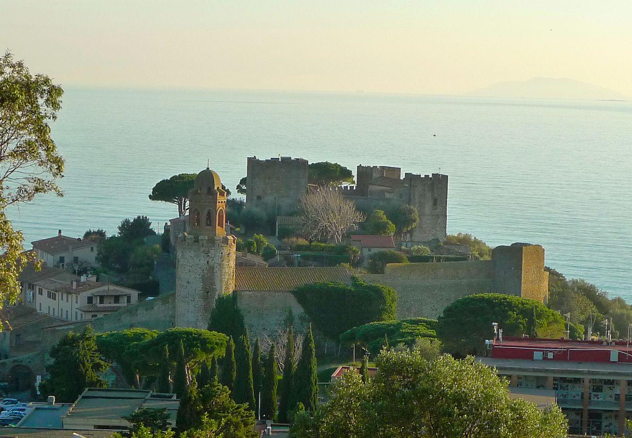 Castiglione della Pescaia - Die Burg