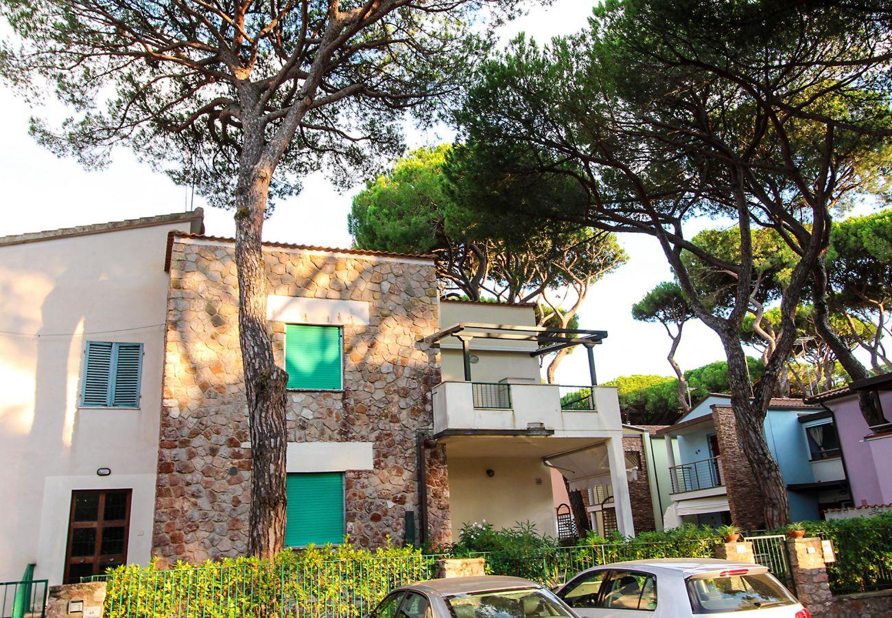 Marina di Grosseto - Ferienwohnung  Lavanda - Das Äußere