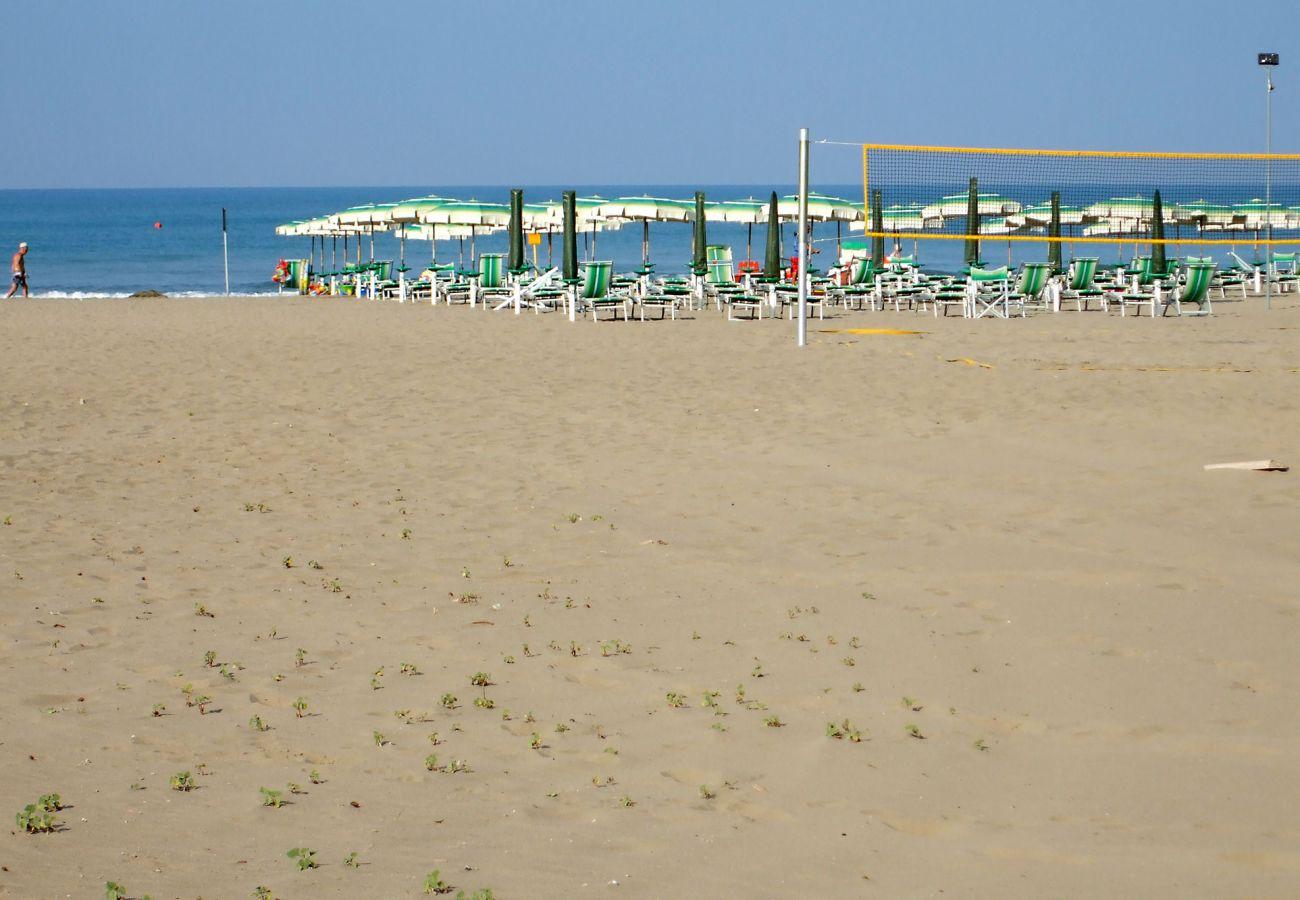 Marina di Grosseto - Lavanda Apartment - Der Strand von Marina