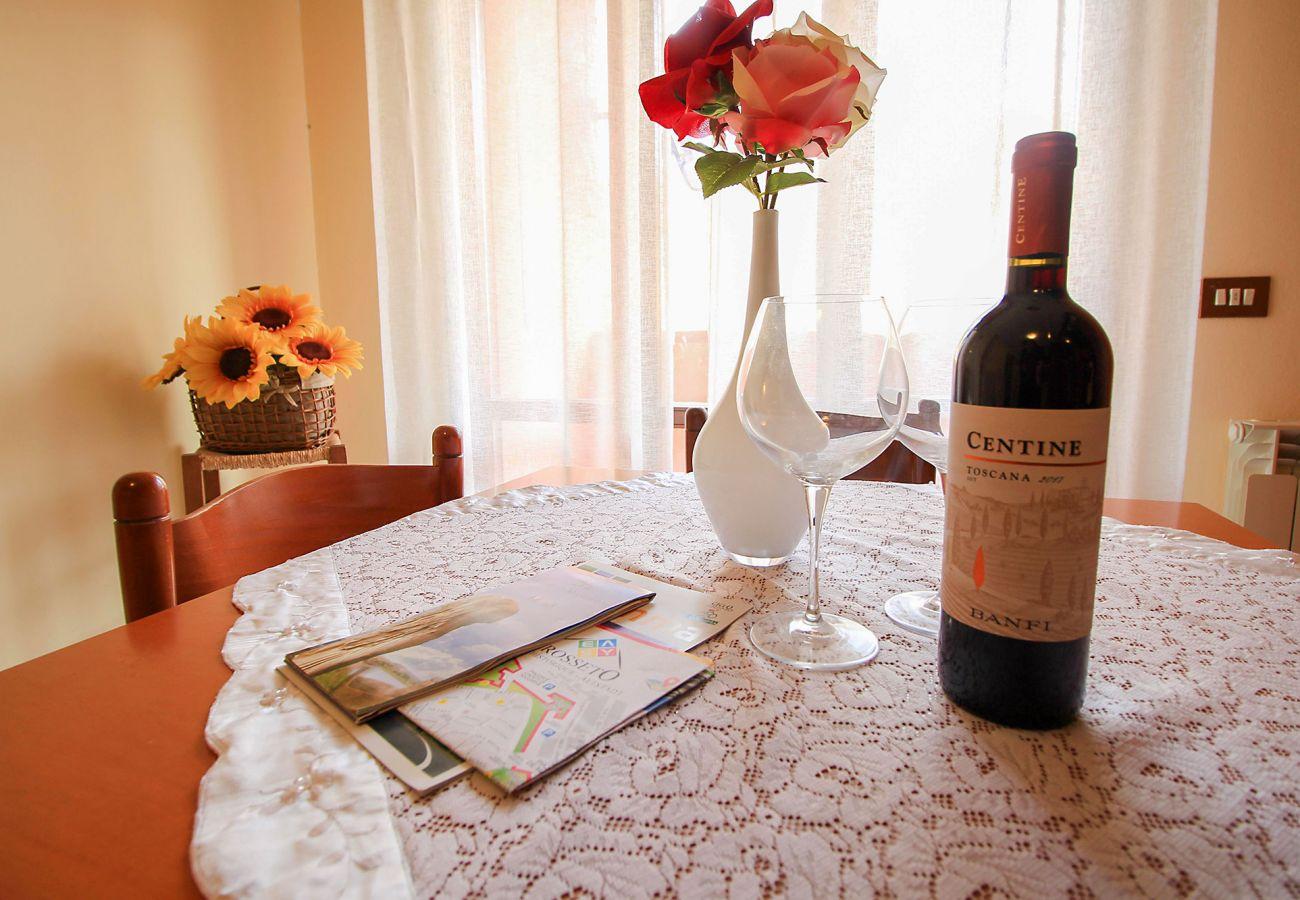 Porto S. Stefano-Wohnung Pozzarello - Im Urlaub mit MaremmaLink