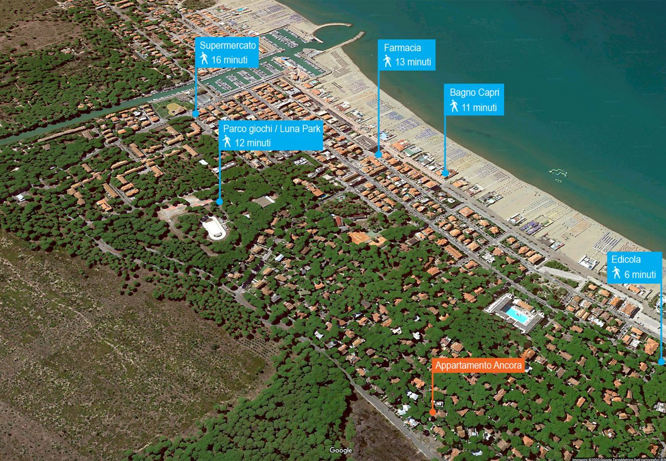 Marina di Grosseto - Appartement Ancora