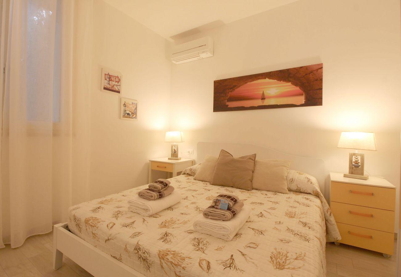 Marina di Grosseto - Appartement L'Oblò - La chambre double