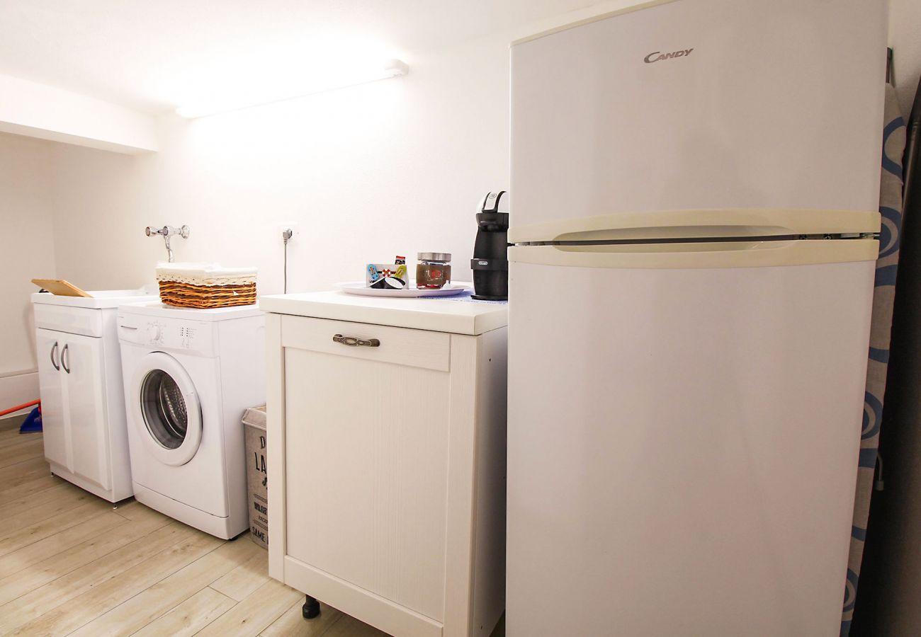 Marina di Grosseto - Appartement L'Oblò - La buanderie pratique