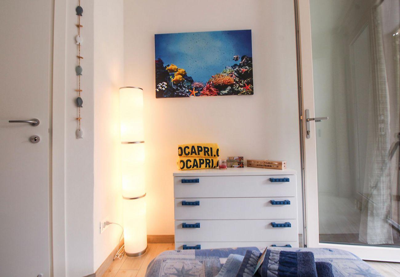 Marina di Grosseto - Appartement L'Oblò - La chambre des enfants joyeuse