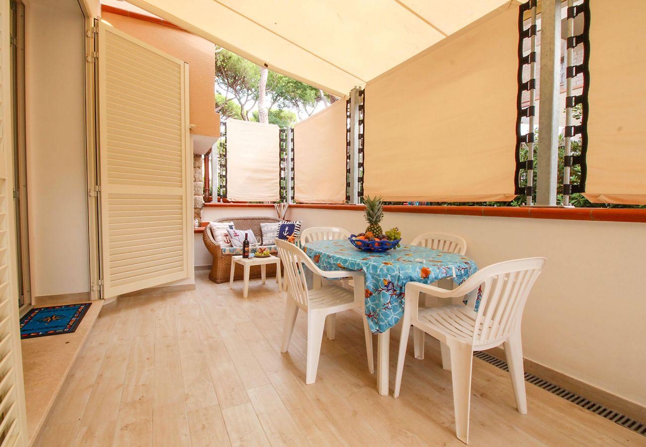 Marina di Grosseto - Appartement L'Oblò - La salle à manger extérieure
