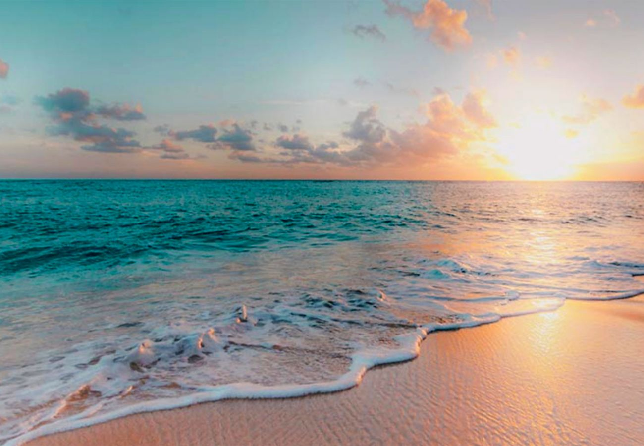Marina di Grosseto - Les couleurs du coucher de soleil