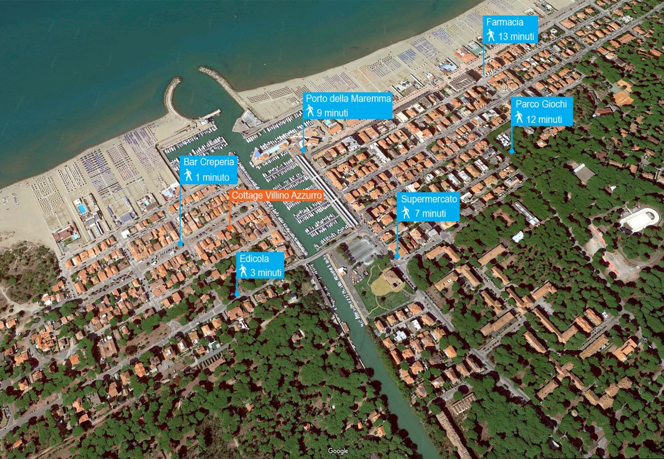 Chalet à Marina di Grosseto - Villino Azzurro