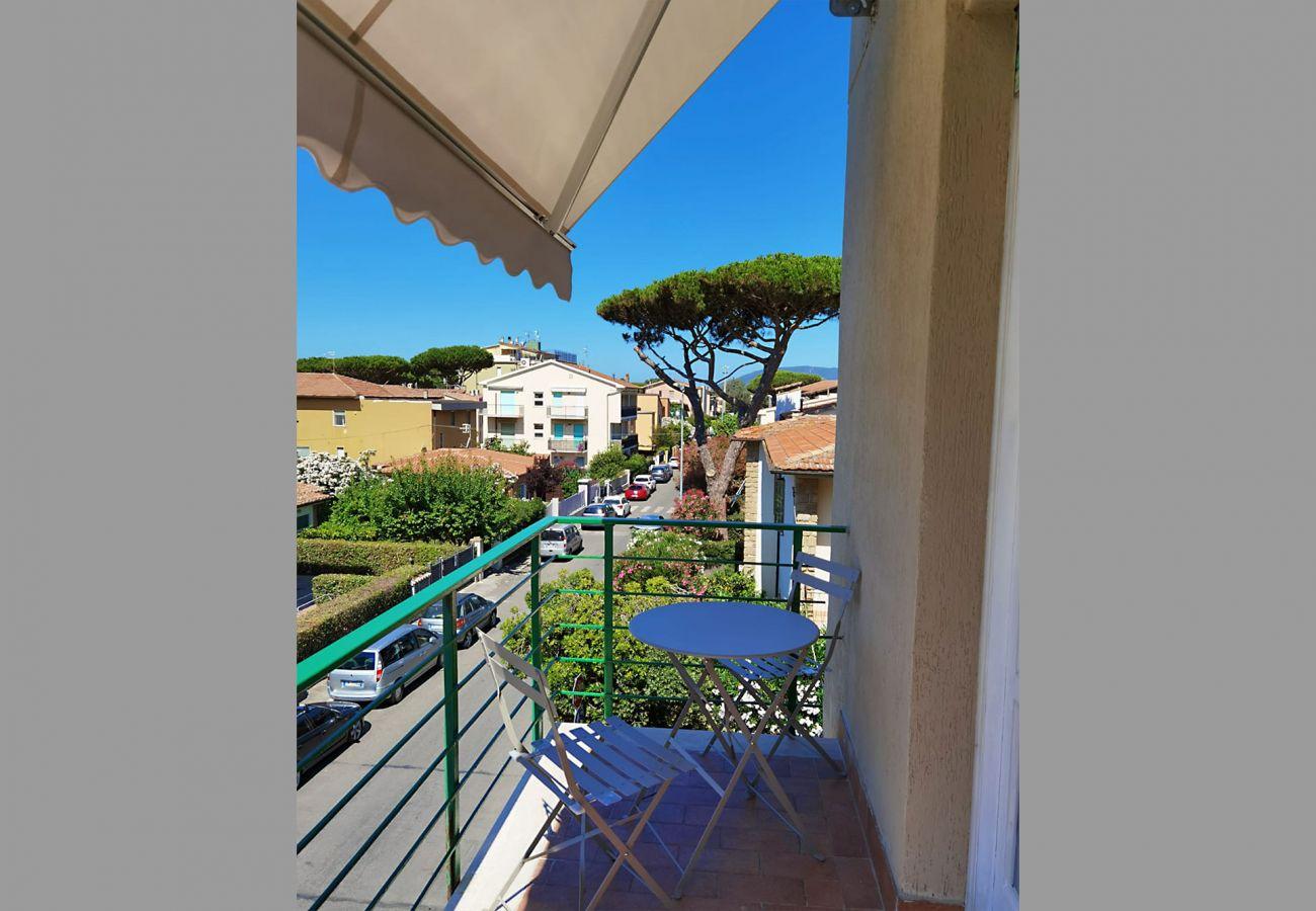 Castiglione della Pescaia - Appartement Anna - Détail du balcon