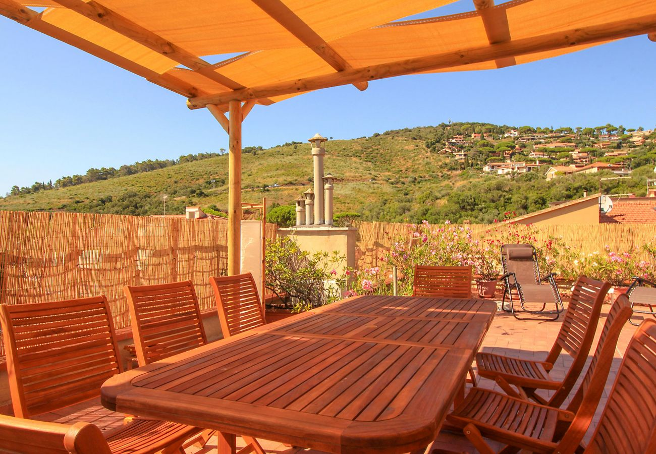 Castiglione della Pescaia - Anna Apartment - Manger en plein air