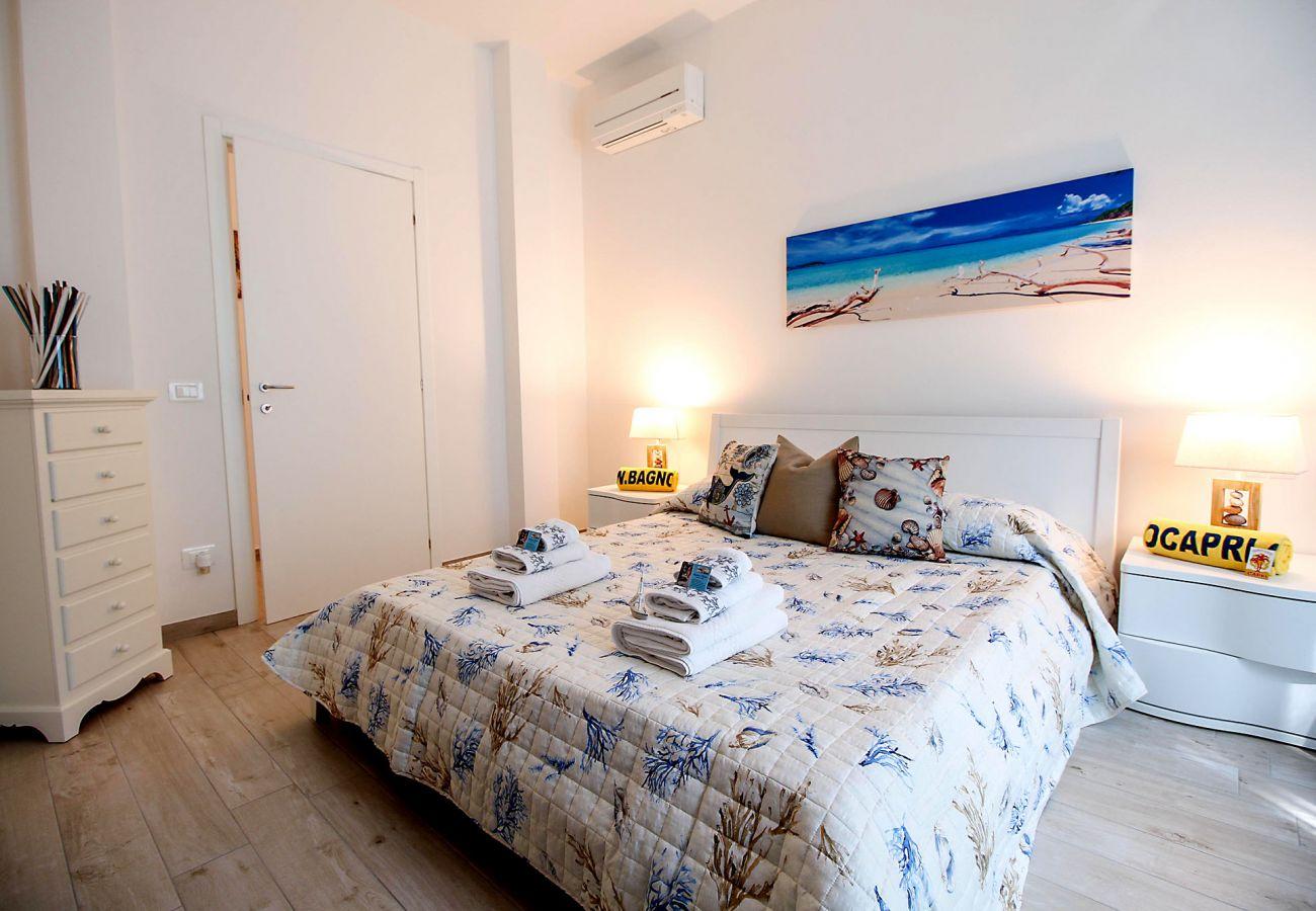 Appartamento Ancora a Marina di Grosseto - La luminosa camera da letto