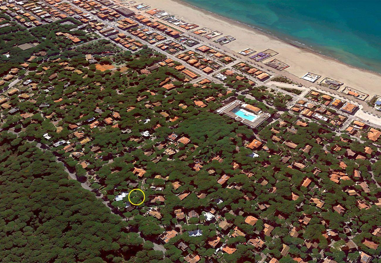 Appartamento Il Timone nella fresca pineta di Marina di Grosseto