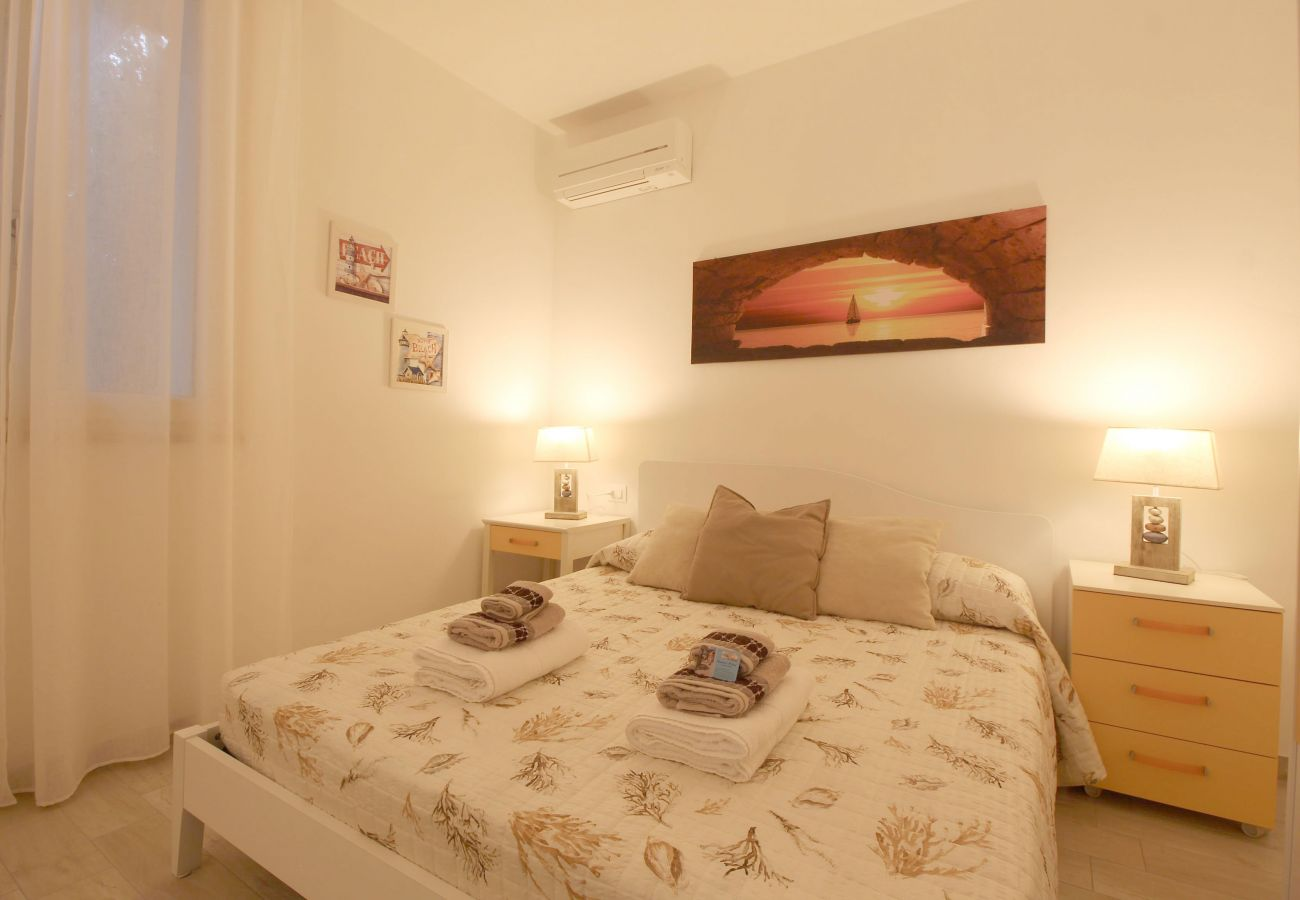 Marina di Grosseto - Appartamento L'Oblò - La camera doppia