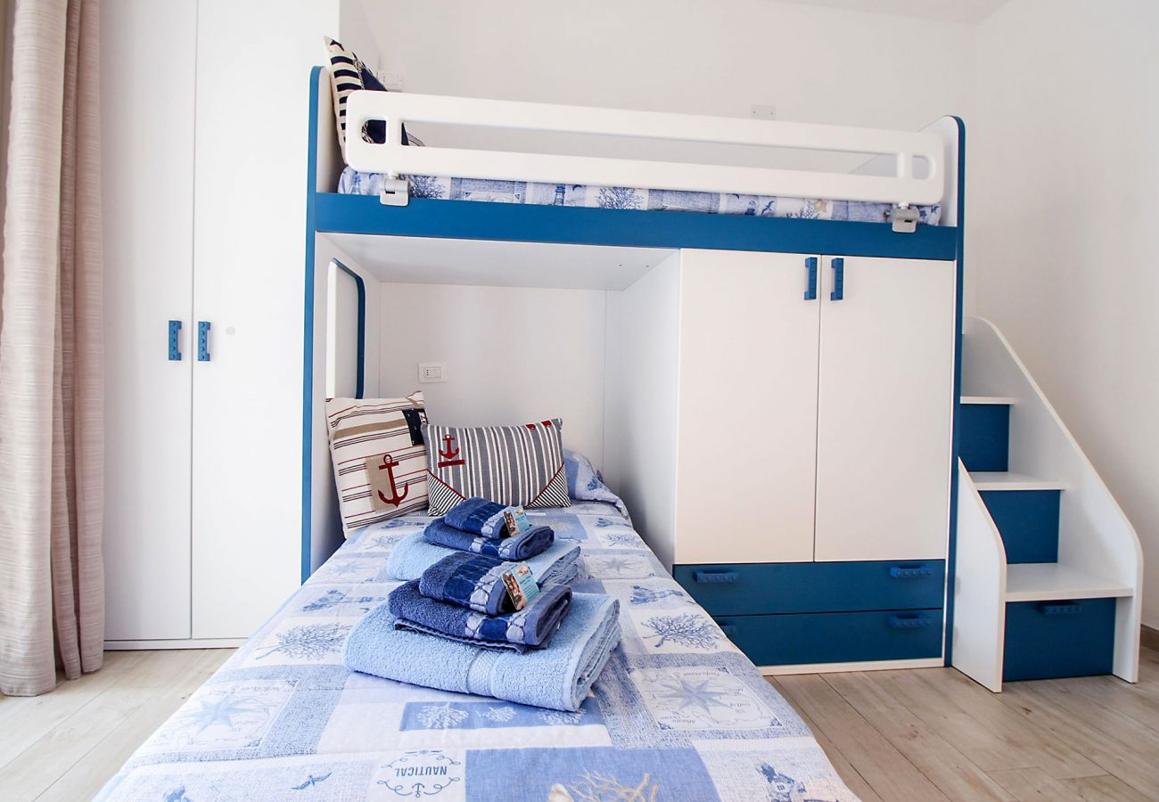 Marina di Grosseto - Appartamento L'Oblò - Il simpatico letto a castello