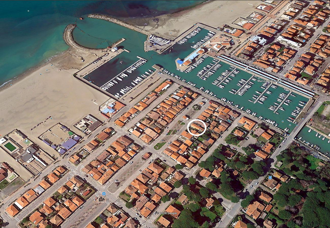 Villetta a Marina di Grosseto - Villino Azzurro