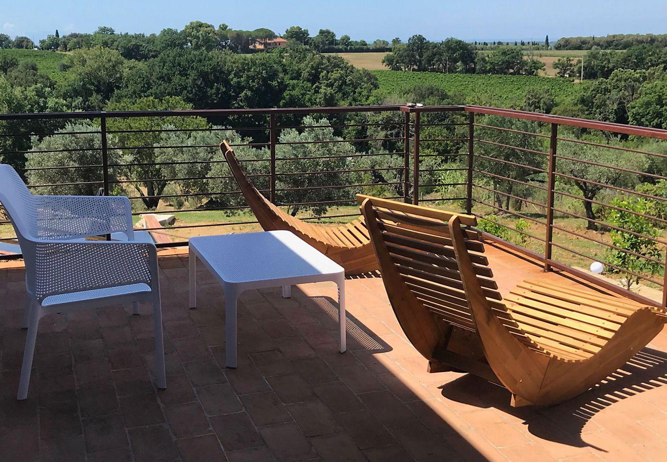 Villa a Bibbona - Villa Bibbona