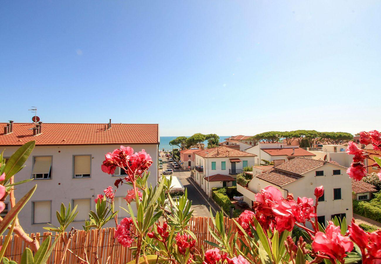 Castiglione della Pescaia - Appartamento Anna - La vista panoramica
