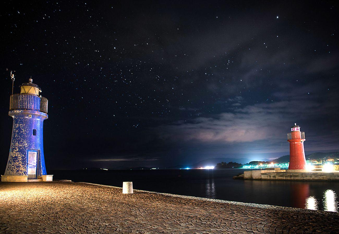 Castiglione della Pescaia - L'ingresso del porto turistico