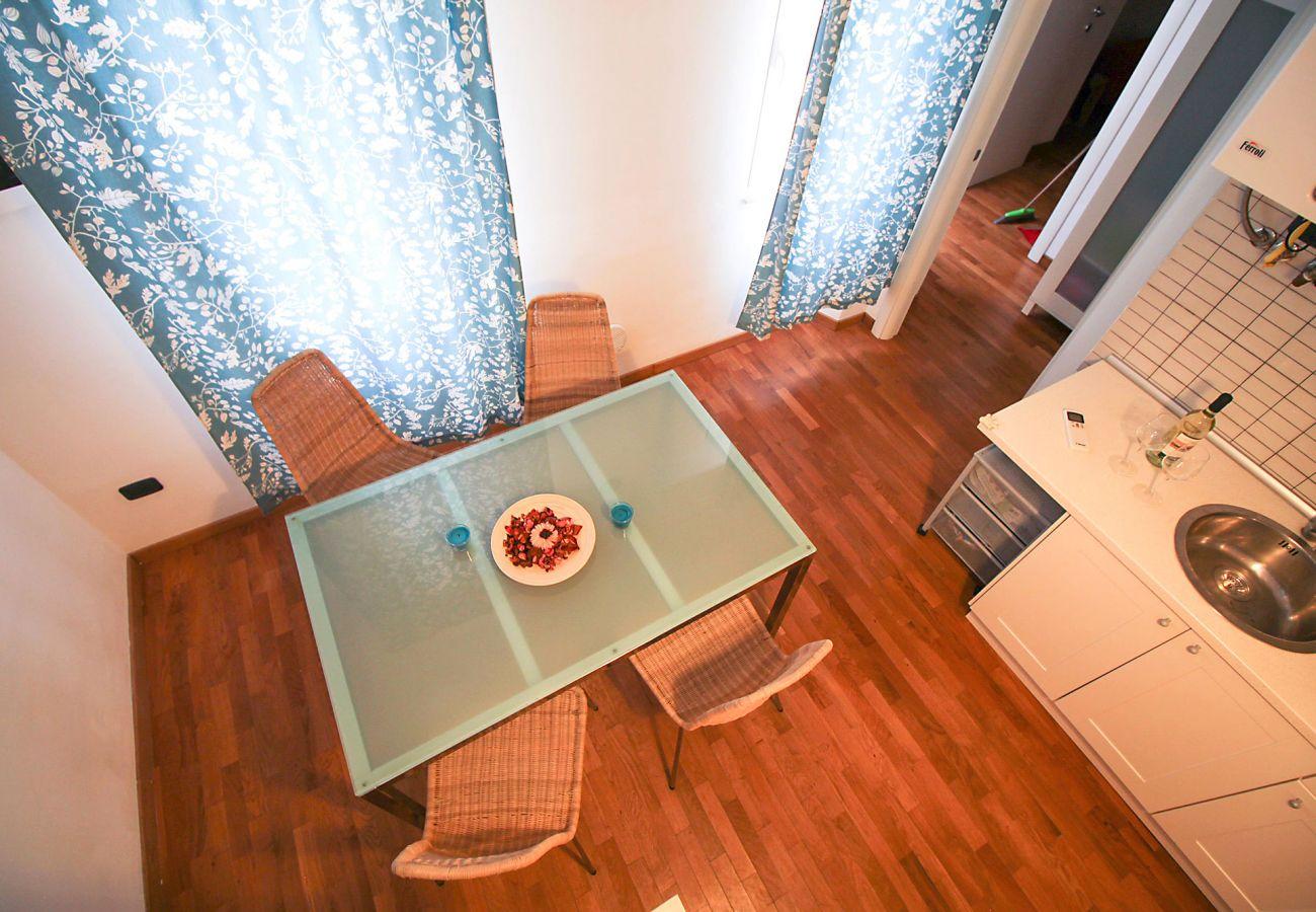 Marina di Grosseto - Appartamento Lavanda - Vista della sala pranzo