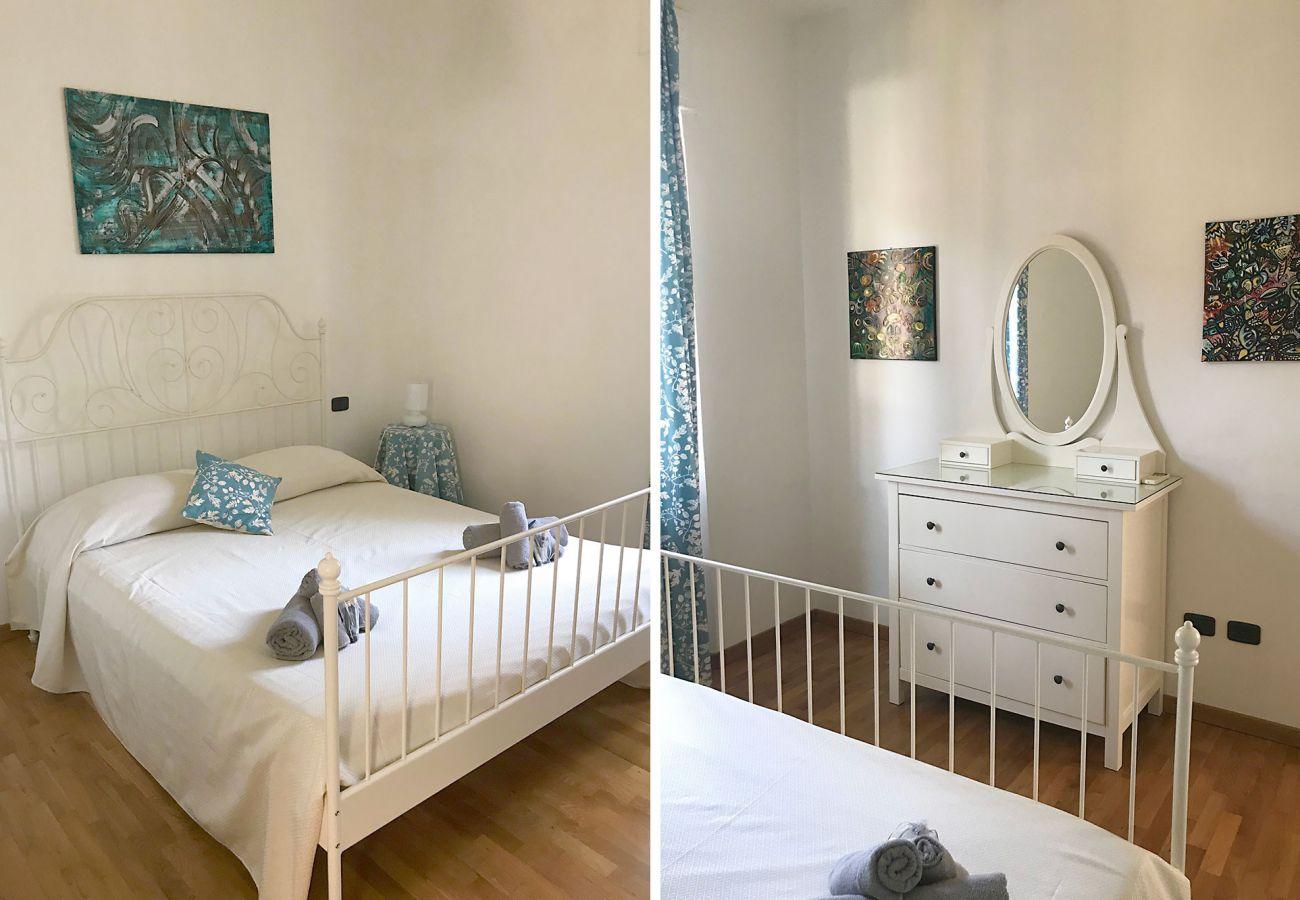 Marina di Grosseto- Appartamento Lavanda - La camera matrimoniale