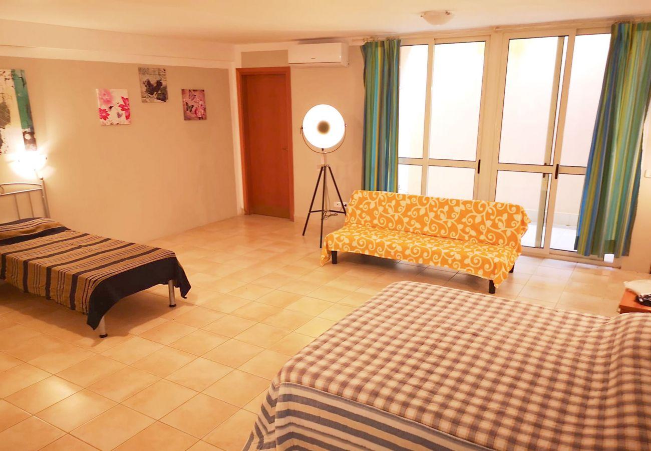Principina Mare - Appartamento Bruno - Il piano inferiore