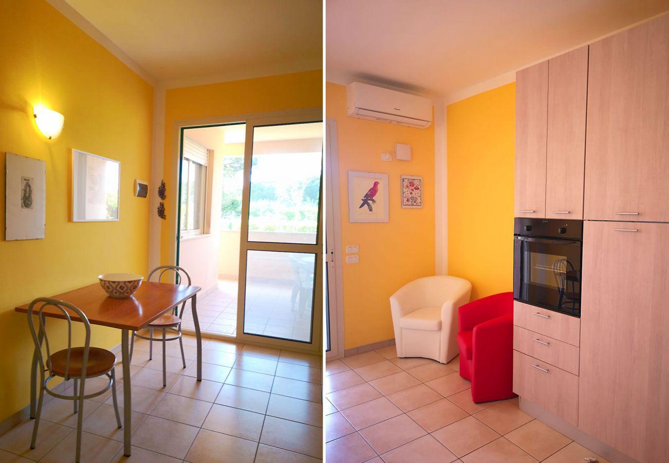 Principina Mare - Appartamento Bruno - Il soggiorno