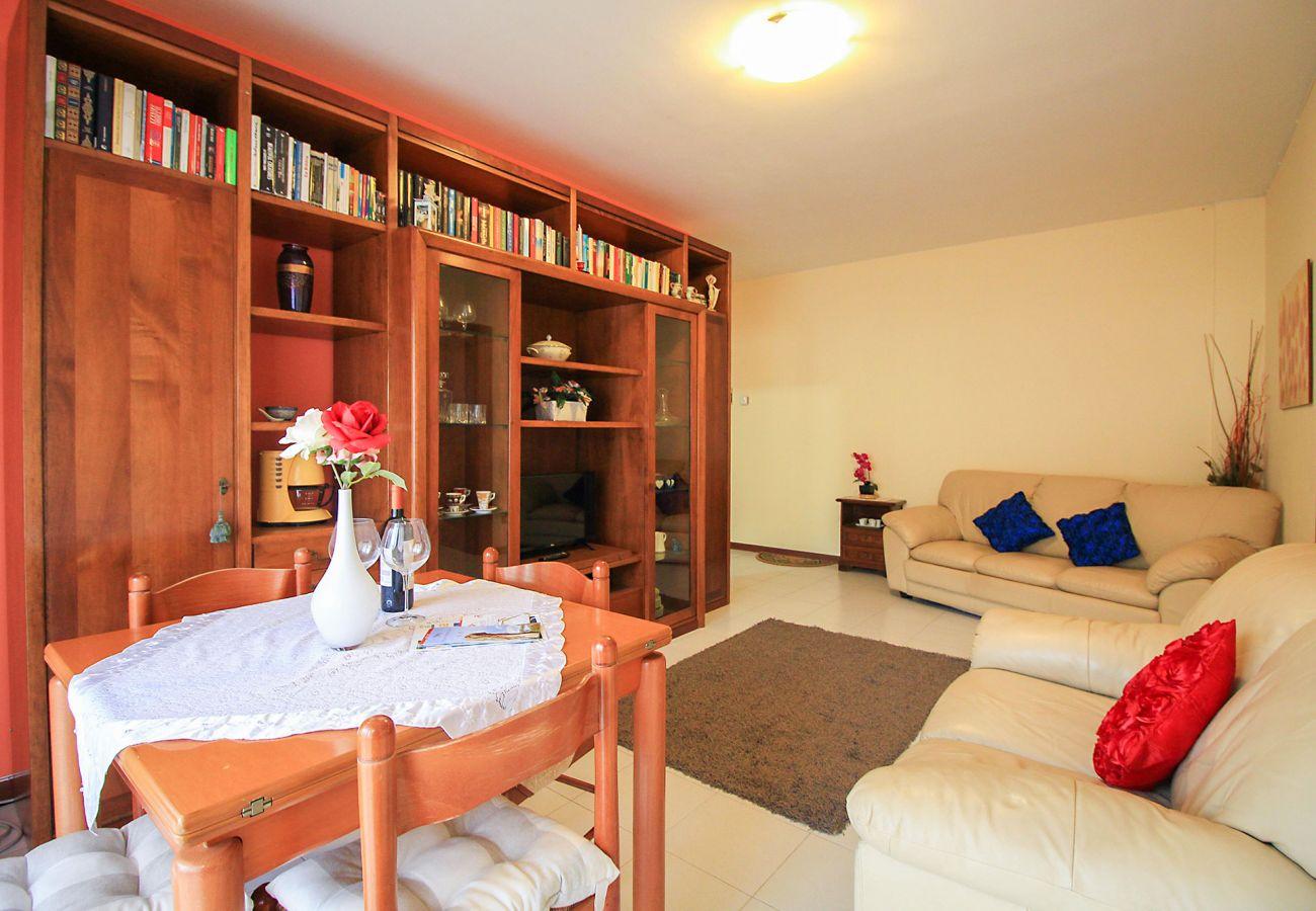 Porto S. Stefano-Pozzarello Apartment - The two comfortable sofas