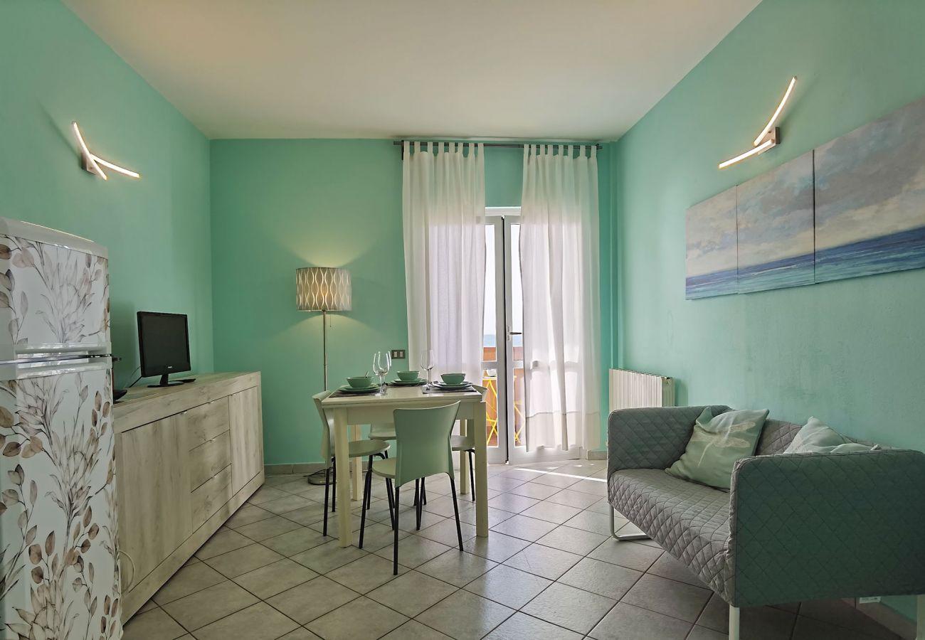 Giannella - Il Germoglio Apartment - The bright living room